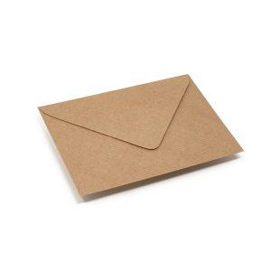 Vokai C6 – perdirbto popieriaus rantyti (Brown craft Ribbed)