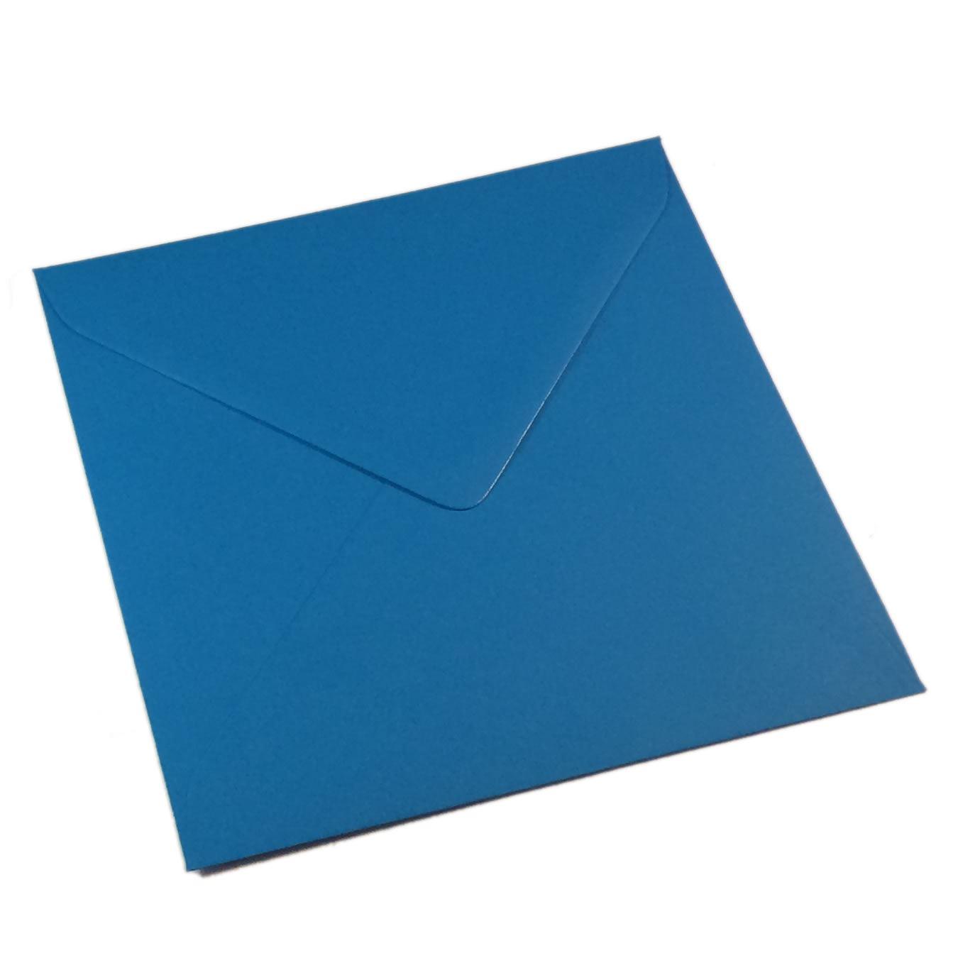 Kvadratiniai kingfisher blue