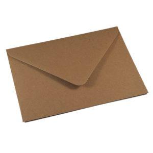 Vokai C6 – perdirbto popieriaus (Brown Craft Flecked)